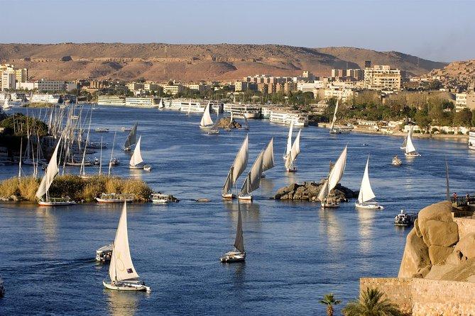 Private Felucca Tour:Aswan Elephantine Island, Agha Khan & Botanic Garden