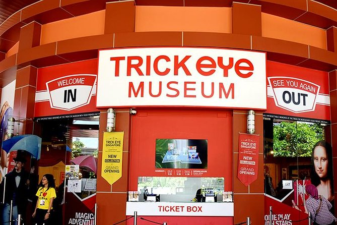 Trick eye Museum Admission Ticket Image