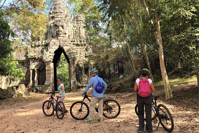 Angkor sunrise 3 main temples unique bike tour