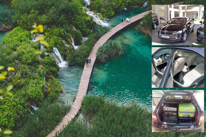 Split to Zagreb Private Transfer with Krka or Plitvice Lakes National Park