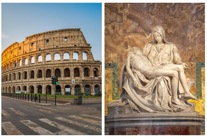 Full Day Private Tour: Colosseum, Roman Forum and Vatican with Transfers