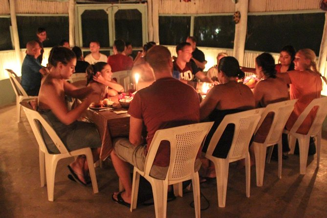 Maya Temazcal Night Ceremony from Cancun with Cenote Swim and Dinner