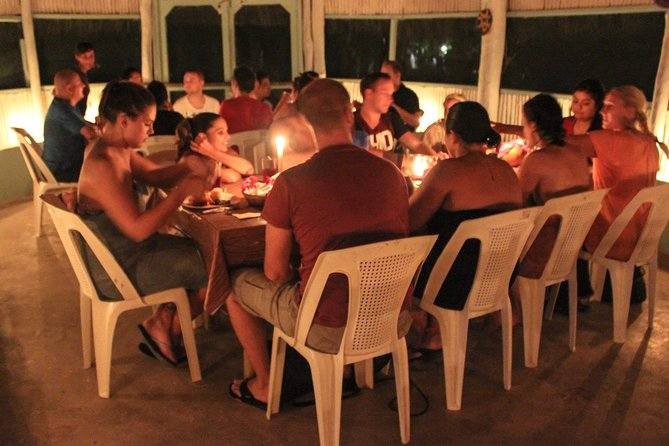 Mayan Ceremonial Night: Temazcal, Cenote Swim and Dinner from Playa del Carmen