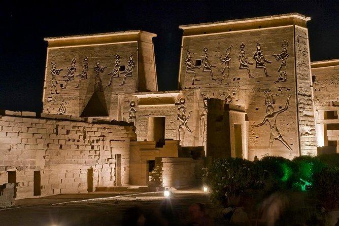Illuminated Sound & Light Show at Philae Temple