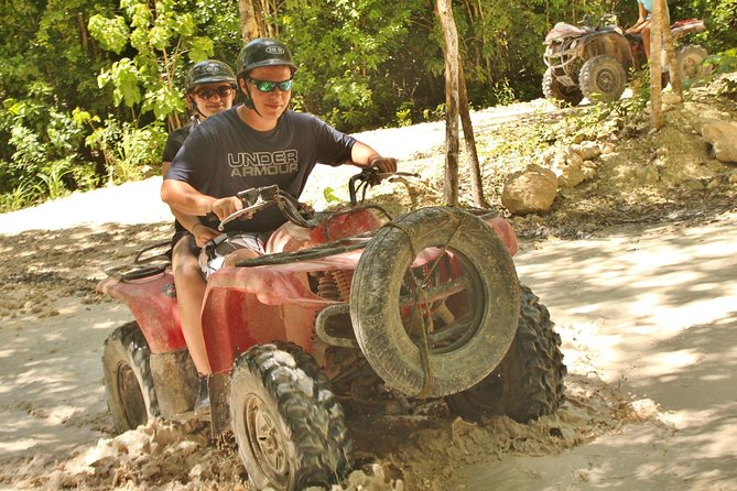 Playa del Carmen Adventure Tour: ATV Ride, Cenote Swim, and Rio Secreto Nature Reserve photo 7