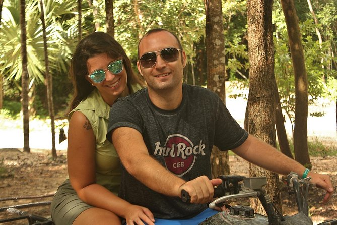 Playa del Carmen Adventure Tour: ATV Ride, Cenote Swim, and Rio Secreto Nature Reserve photo 3