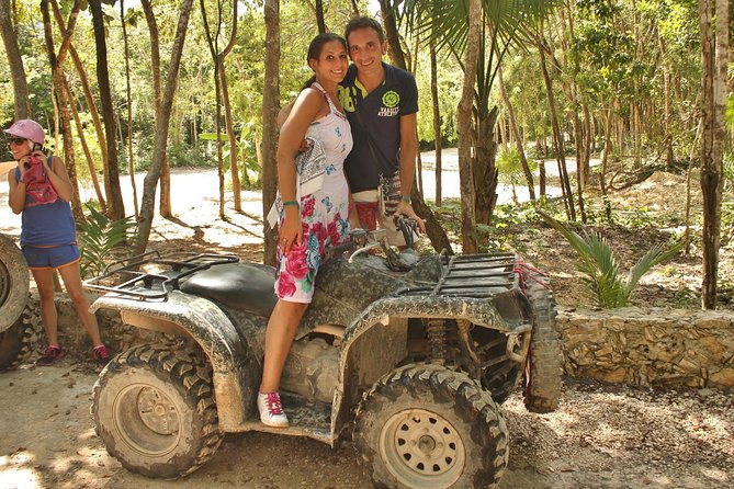 Playa del Carmen Adventure Tour: ATV Ride, Cenote Swim, and Rio Secreto Nature Reserve photo 9