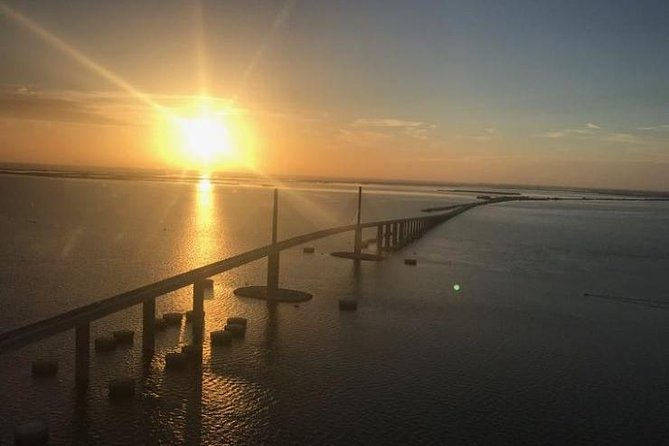 Magnificent Helicopter Tour -Tampa Bay, Skyway Bridge, Beaches of Pinellas Co. photo 3