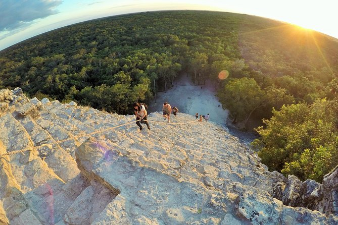 Sunset in the Jungle: Private Coba in the afternoon