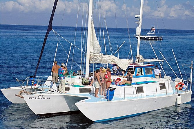 """FE"" Catamaran Sail and Snorkel Tour in Cozumel photo 2"