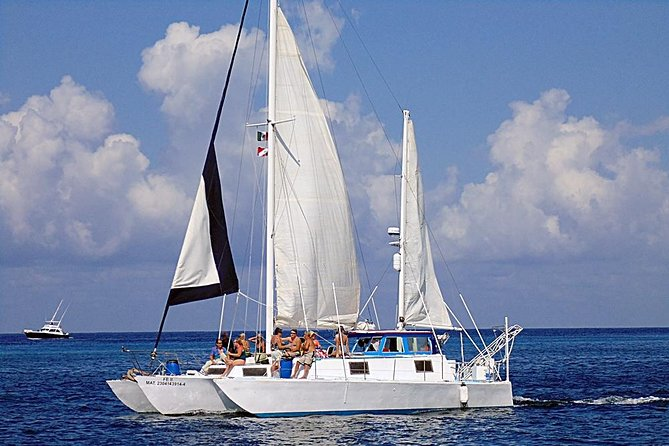 """FE"" Catamaran Sail and Snorkel Tour in Cozumel photo 3"