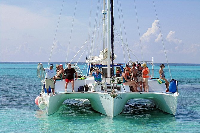 """FE"" Catamaran Sail and Snorkel Tour in Cozumel photo 10"