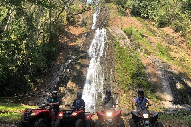 Signature ATV Canopy Waterfall Adventure COMBO Tour