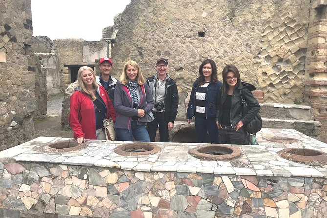 Skip-the-line Small-Group Herculaneum Tour with a Local Archaeology Expert Guide