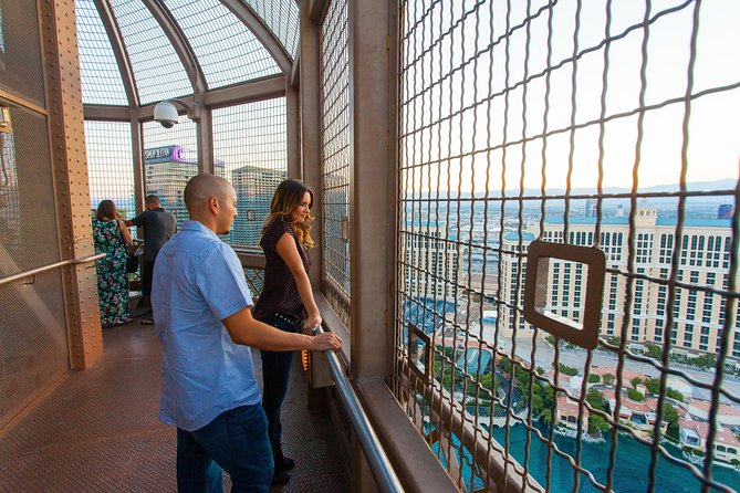 Eiffel Tower Viewing Deck at Paris Las Vegas