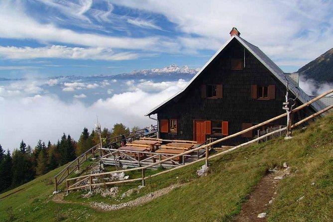 Hiking to Ljubelj from Prevala and Roblekov dom