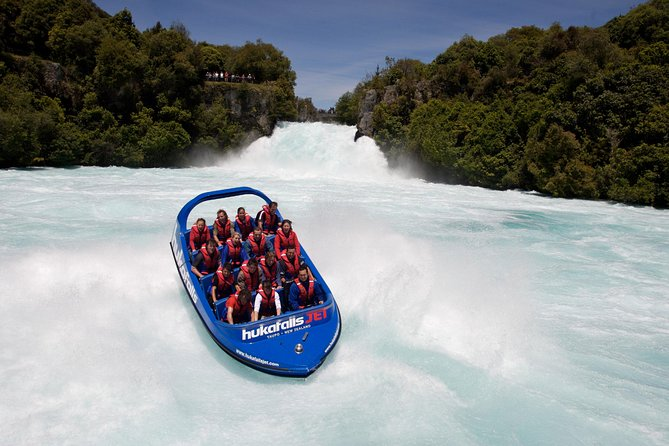 Hukafalls Jet Boat Ride from Taupo