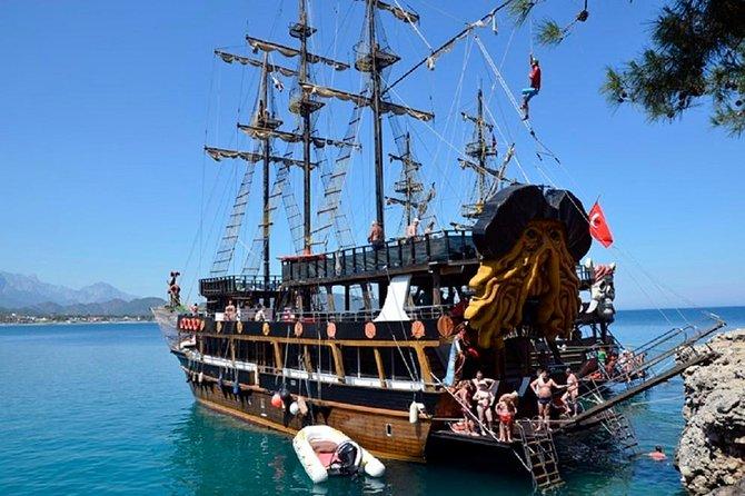 Kemer Pirates Boat Trips-Pick up from Camyuva, Kiris, Tekirova, Goynuk , Beldibi