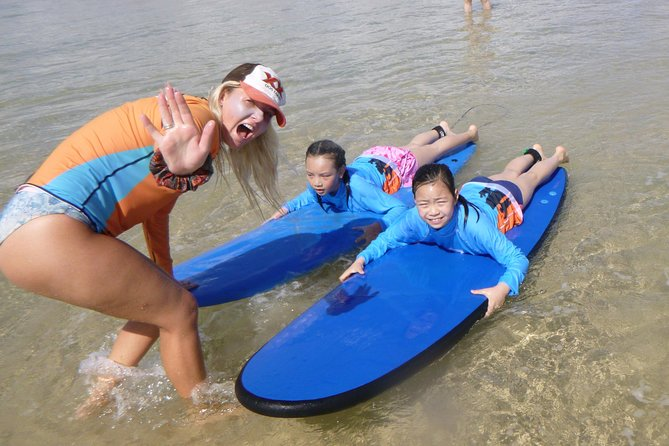 Kids Only Surf Lessons at Surfers Paradise Beach