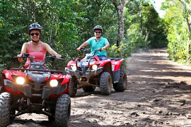Discover the Adrenaline with our tour with Atvs ziplines and a real Mayan cenote photo 13