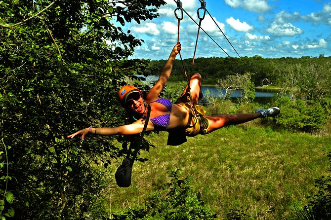 Discover the Adrenaline with our tour with Atvs ziplines and a real Mayan cenote photo 7