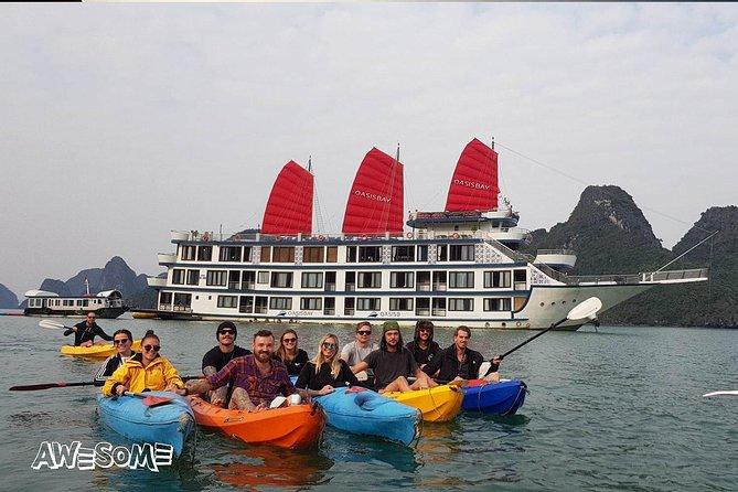 5 días 4 noches crucero con fiesta en el oasis y cascada Ban Gioc