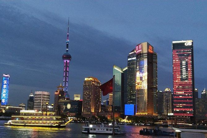 Shanghai Evening Huangpu River Cruise & Bund Group Tour