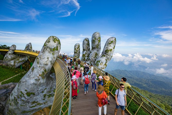 Big group: Ba Na Hills and Golden Bridge from Hoi An