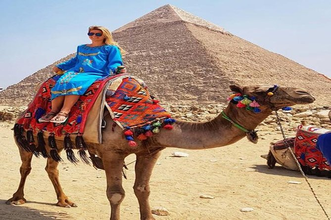 Private Full Day Guided Tour: Giza Pyramids and Egyptian Museum with Camel Ride and Lunch photo 4