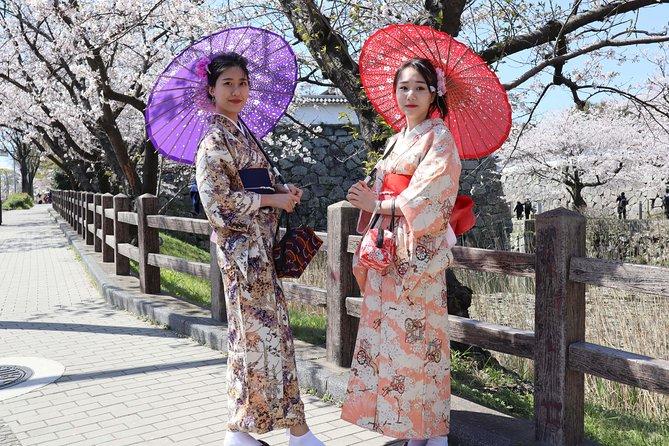 ★ FUKUOKA KIMONO Challenge ★ Elegantly sightseeing in Fukuoka with Kimono