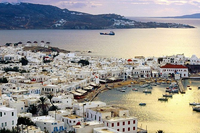 Helicopter Sightseeing Tour Mykonos