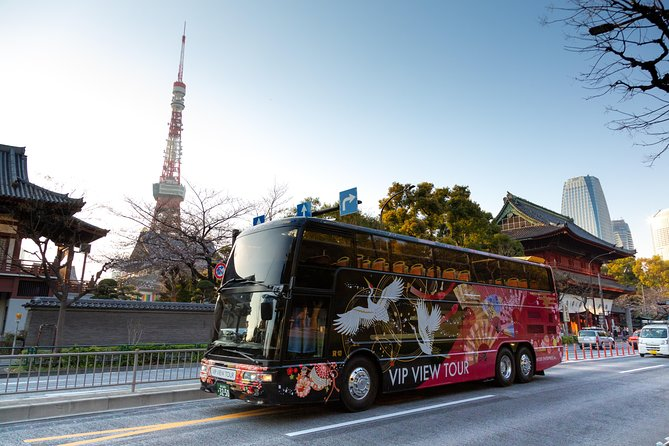 Tokyo: 3.5 Hour Open Top Sightseeing Bus Ride - Tokyo Live Course