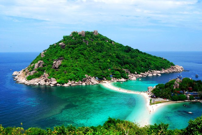 Koh Tao and Koh Nang Yuan Snorkel Tour By Speedboat with Lunch