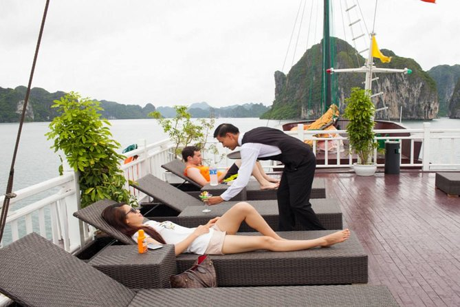 relax on sundeck