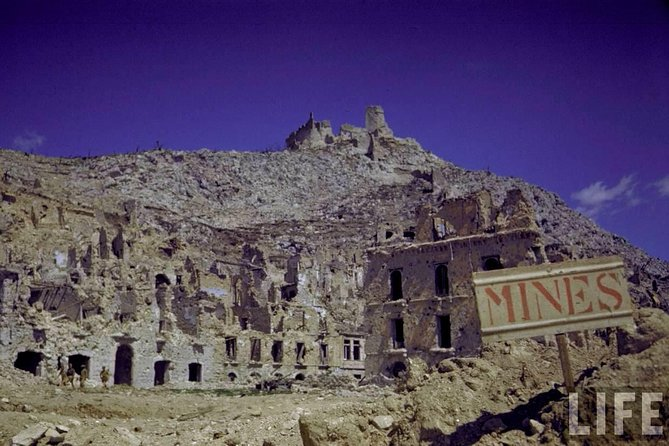 WWII BATTLEFIELDS: Montecassino Shore Excursion from Civitavecchia