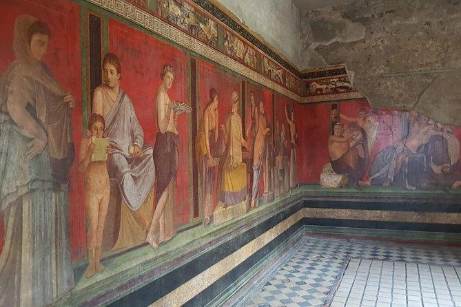 From Rome:Capri and Blue Grotto, Sorrento and Pompeii tour
