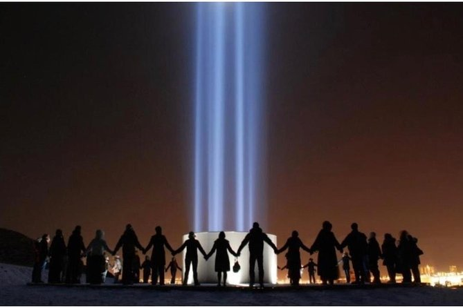 Imagine Peace Tower | walking tour on Viðey island
