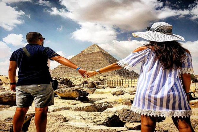 Best Cairo Layover Tour to Giza Pyramids - Sphinx with Camel ride - Bazaar