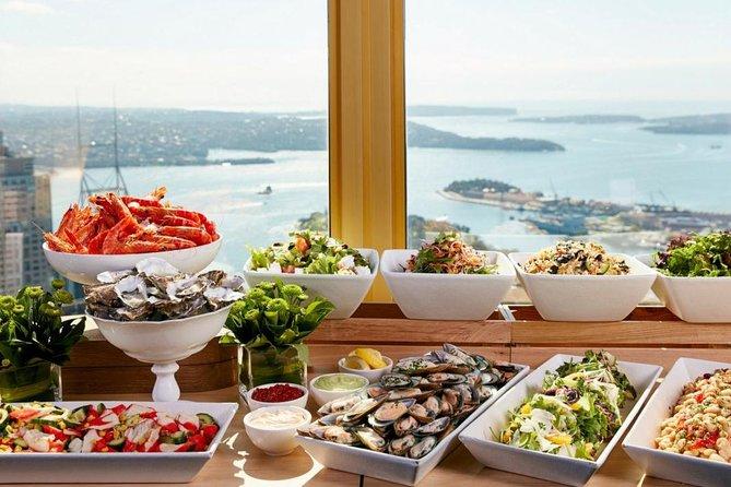 Sydney Tower Restaurant Buffet Tour