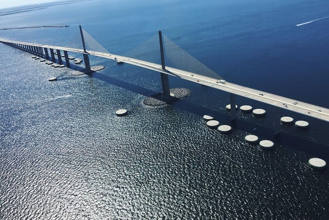 Magnificent Helicopter Tour -Tampa Bay, Skyway Bridge, Beaches of Pinellas Co. photo 1