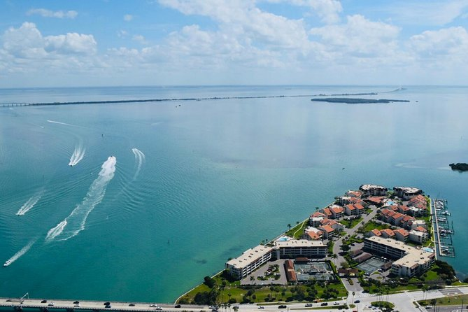 Magnificent Helicopter Tour -Tampa Bay, Skyway Bridge, Beaches of Pinellas Co. photo 13
