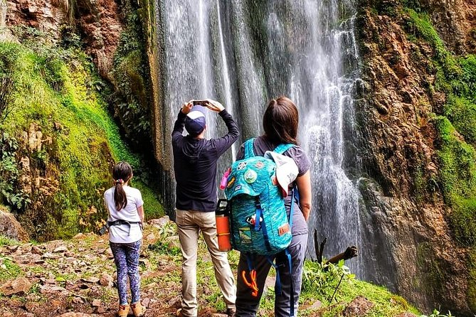 Private Perolniyoc waterfall and Raqaypata Trek from cusco photo 6