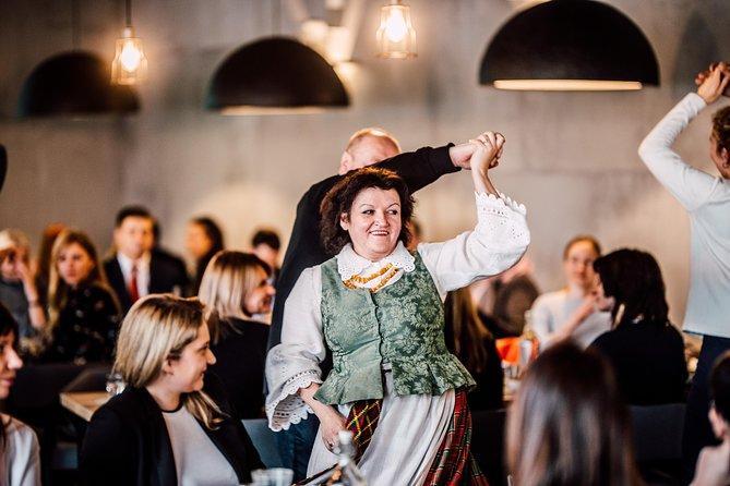National Dinner with Folk Show in Vilnius