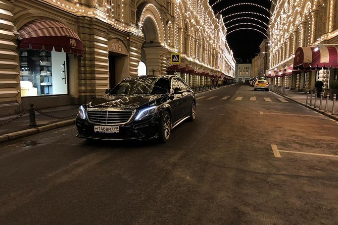 Mercedes Benz S class Moscow airport pick-up