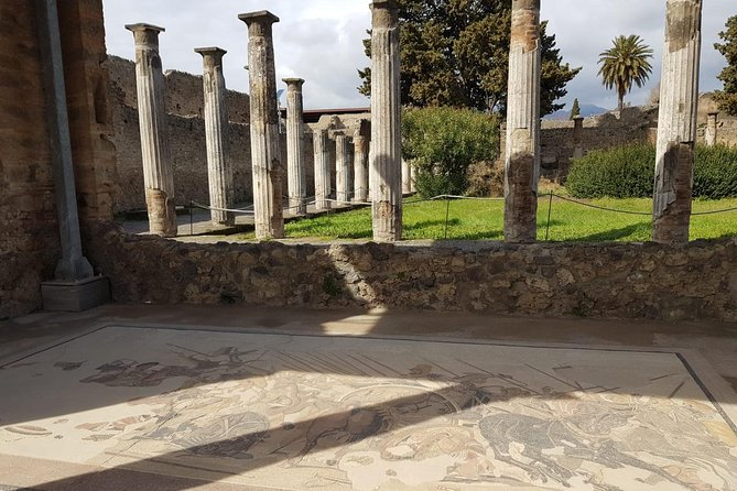 Positano, Sorrento and Pompeii in a Day Tour from Naples
