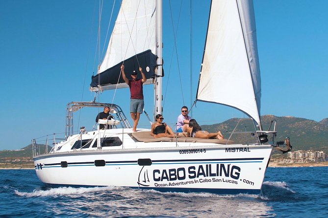 Private 42 ft Luxury Sailing Yacht and Snorkeling in Los Cabos