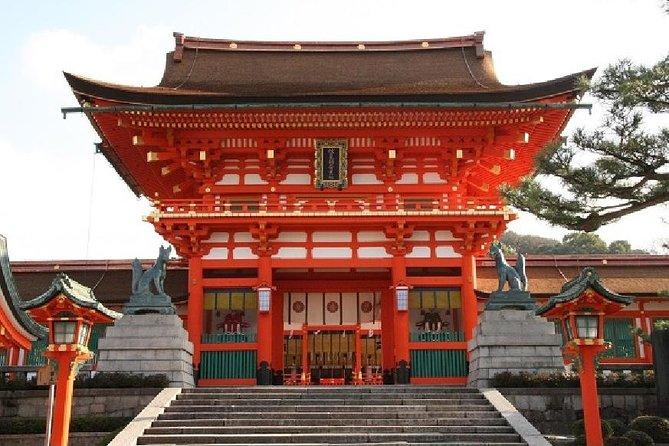 Kyoto Afternoon Tour - Fushimiinari Shrine & Kiyomizu Temple from Osaka