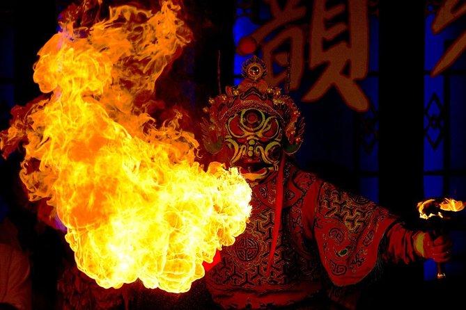 Chengdu opera with one way transfer in B seat