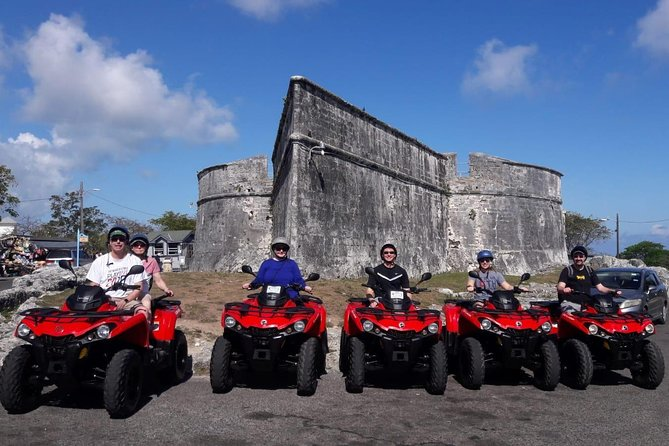 ATV Island Tour (Beach Break, Lunch, Free Tropical Drinks & Rum Cake Souvenir)