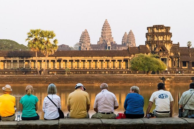 Angkor Wat Complex By Mini-Van and English Speaking Guide (Group Tour)